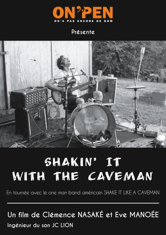 """On'Pen présente :""""Shaking it with the caveman"""". Un film de Clémence Nasaké & Eve Manoée"""
